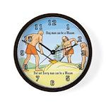 3 Ruffians Wall Clock