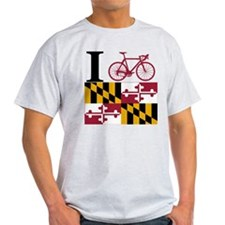 I BIKE Maryland T-Shirt