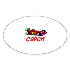 Caden Oval Decal