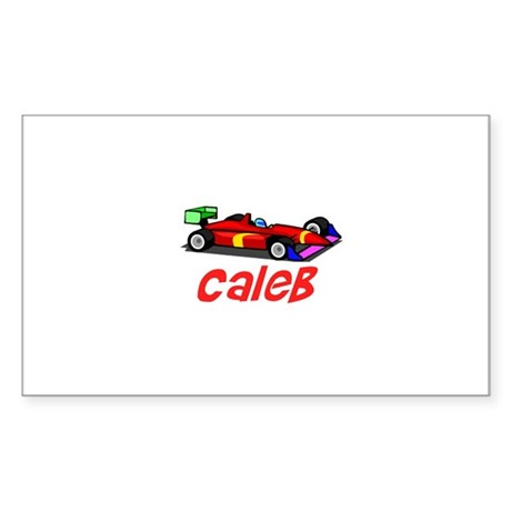 Caleb Rectangle Sticker