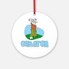Cameron Ornament (Round)