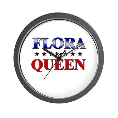 FLORA for queen Wall Clock