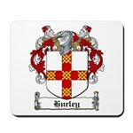 Hurley Family Crest Mousepad