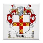 Hurley Family Crest Tile Coaster