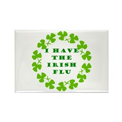 Irish Flu Rectangle Magnet (10 pack)