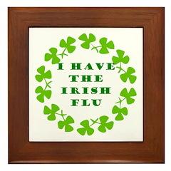 Irish Flu Framed Tile