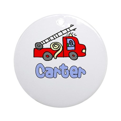 Carter Ornament (Round)