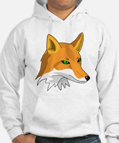 Kitsune (Red Fox) with Green Hoodie