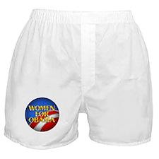 Women For Obama Boxer Shorts