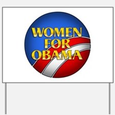 Women For Obama Yard Sign