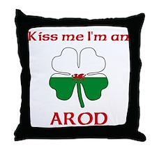 Arod Family Throw Pillow