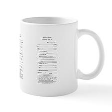 Clearance Form A Mug