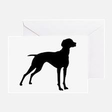 Vizsla Dog Greeting Card