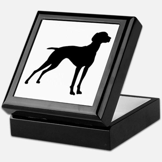Vizsla Dog Keepsake Box