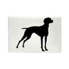 Vizsla Dog Rectangle Magnet