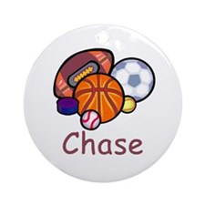 Chase Ornament (Round)