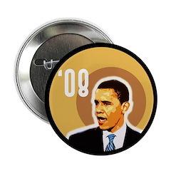 Obama '08 Campaign Button