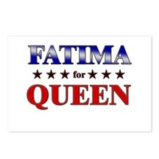 FATIMA for queen Postcards (Package of 8)