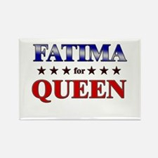 FATIMA for queen Rectangle Magnet