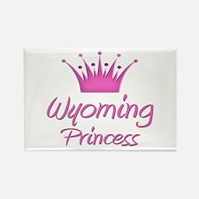 Wyoming Princess Rectangle Magnet