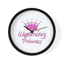 Wyoming Princess Wall Clock