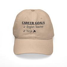 English Teacher Career Goals Baseball Cap