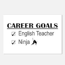 English Teacher Career Goals Postcards (Package of