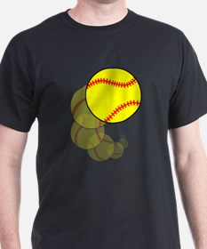 Softball Wave T-Shirt