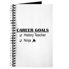 History Tchr Career Goals Journal