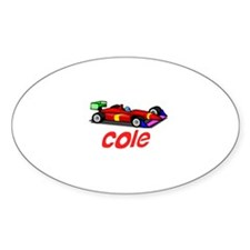 Cole Oval Decal
