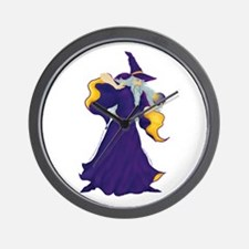 Merlin the Wizard Picture Wall Clock