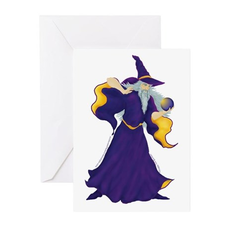 Merlin the Wizard Picture Greeting Cards (Pk of 10