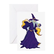 Merlin the Wizard Picture Greeting Card