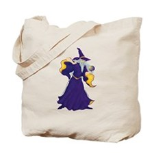 Merlin the Wizard Picture Tote Bag