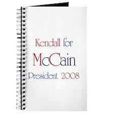 Kendall for McCain 2008 Journal