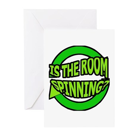 Is The Room Spinning? Greeting Cards (Pk of 20)