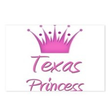 Texas Princess Postcards (Package of 8)