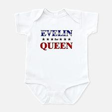 EVELIN for queen Infant Bodysuit