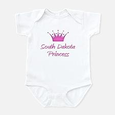 South Dakota Princess Infant Bodysuit
