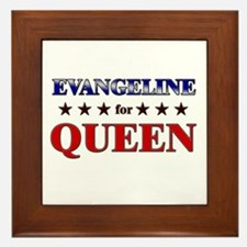 EVANGELINE for queen Framed Tile