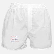 Nevaeh for McCain 2008 Boxer Shorts