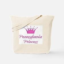 Pennsylvania Princess Tote Bag