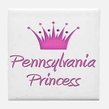 Pennsylvania Princess Tile Coaster