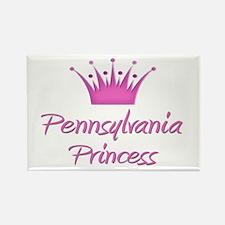 Pennsylvania Princess Rectangle Magnet