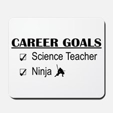 Science Tchr Career Goals Mousepad