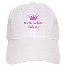 North Dakota Princess Baseball Cap