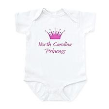 North Carolina Princess Infant Bodysuit