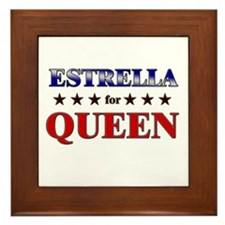 ESTRELLA for queen Framed Tile