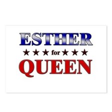 ESTHER for queen Postcards (Package of 8)