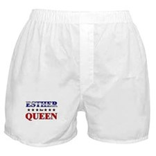 ESTHER for queen Boxer Shorts